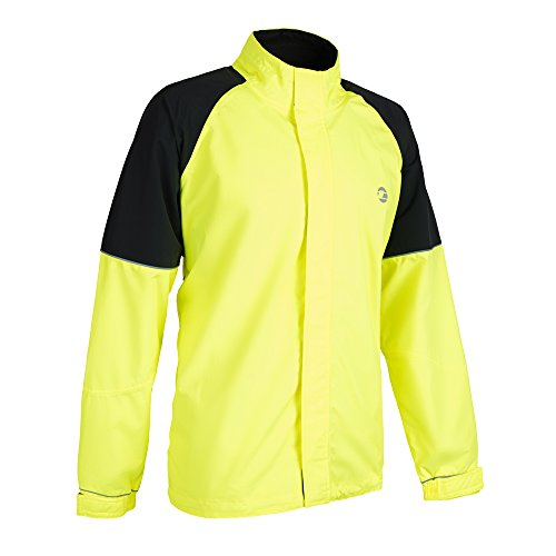 Tenn Mens Vision Jacket - Hi-Viz Yellow/Black - Med