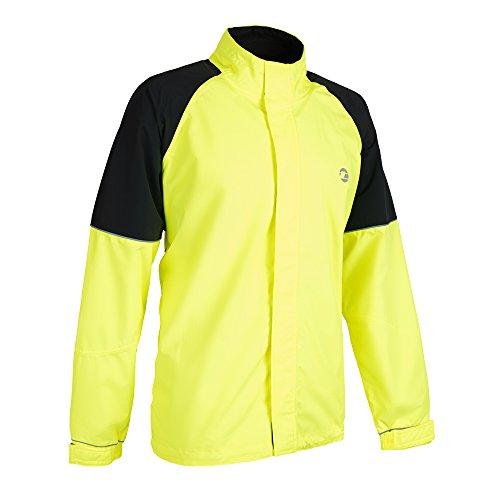 Tenn Mens Vision Jacket - Hi-Viz Yellow/Black - Med