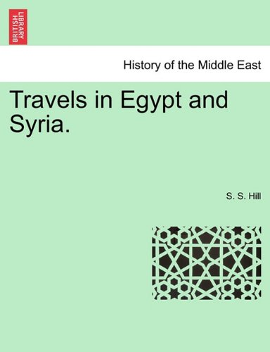 Travels in Egypt and Syria.