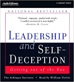 leadership and self deception getting out of the box Leadership and self-deception ends with the advice that until we get out of the box and the distortions it causes, we don't know who we work and live with wbowles | aug 25, 2008 | i can't decide how to start the review of leadership and self deception: getting out of the box.
