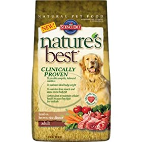 Hill's Science Diet Nature's Best Lamb and Brown Rice Dinner Adult Dog Food