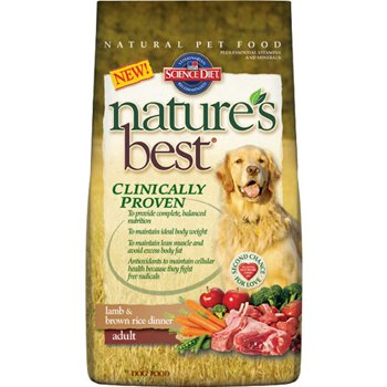 Hill's Science Diet Nature's Best Lamb and Brown Rice Dinner Adult Dog ...