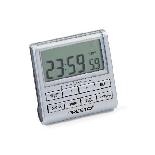 Presto 04212 4-In-One Clock/Timer