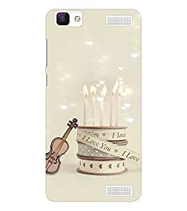 EPICCASE love date Mobile Back Case Cover For Vivo V1 Max (Designer Case)