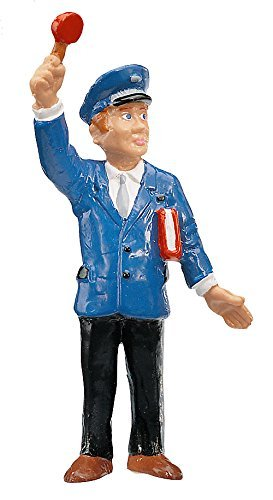 Bullyland Conductor Plastic Toy Figure (Colors Vary)