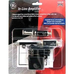 Ge Av23241 In-line Tv Signal Amplfier Amp