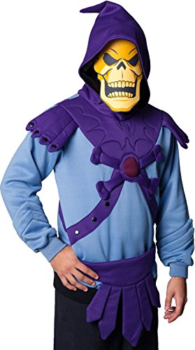 Offiical Skeletor Costume Hoodie - many sizes up to 5XL.