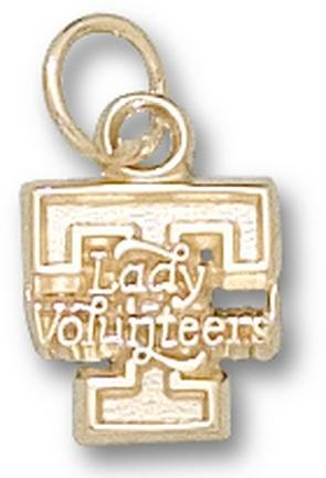 Tennessee Lady Volunteers T Lady Volunteers Lapel Pin - 10KT Gold Jewelry by Logo Art