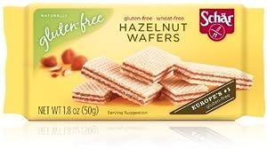 Schar Hazelnut Wafers, 1.8-Ounce (Pack of 20) by Schar