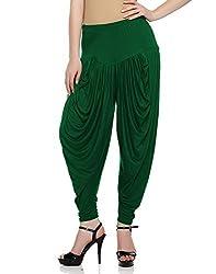 Sakhi Sang Womens Viscose Dhoti Salwar [SS0834_Free Size_Green]
