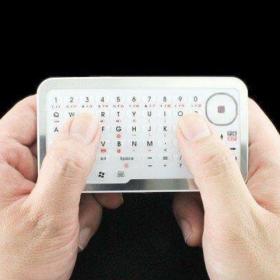 【iPhone iPad 対応】タッチマウス搭載Bluetooth接続 コンパクトキーボード