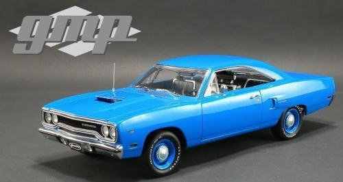 1970-plymouth-road-runner-corporate-blue-limited-edition-to-1548pcs-1-18-by-gmp-18801-by-gmp