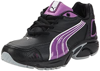 Puma Xenon TR SL Wn's, Damen Laufschuhe, Schwarz (black-bright violet-silver metallic-quarry 04), 36 EU (3.5 Damen UK)