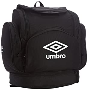 Umbro Football Wardrobe Football Wardrobe - Backpack  - Black / White, Large