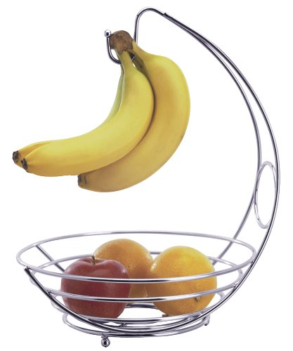 Progressive International Chrome Wire Fruit Bowl