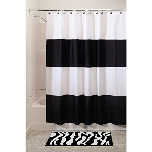 interdesign-zeno-waterproof-shower-curtain-black-and-white-72-inches-x-72-inches