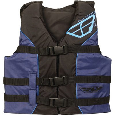 Fly Racing Standard Youth Water Sports Racing Watercraft Vest - Color: Blue/Black