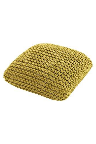 Habitat Sitzkissen Knot, klein, Gelb