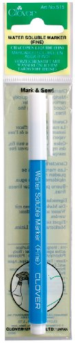 Clover Water Soluble Fine Marker (Fabric Markers For Quilting compare prices)