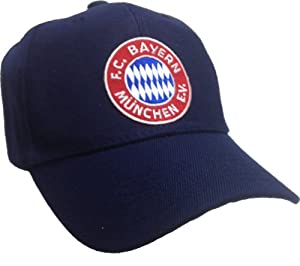 fc bayern munchen munich hat blue soccer ball. Black Bedroom Furniture Sets. Home Design Ideas