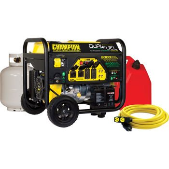 Champion 7000W Running / 9000W Peak DUAL FUEL Generator w/Electric Start (Champion Generator Dual Fuel compare prices)