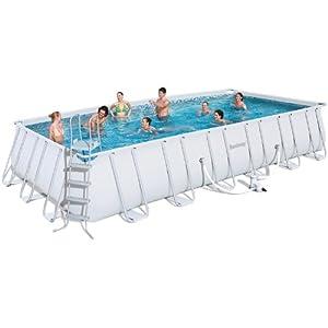 Bestway swimming pool komplettset 732 x 366 cm for Garten pool 366