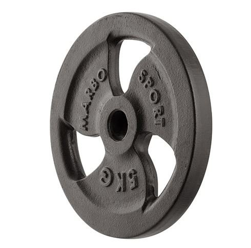 Marbo Sport, Pesi dischi in ghisa per bilancieri e manubri 30mm (5 kg)