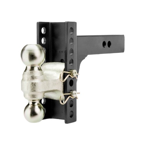Purchase CURT Manufacturing 45900 Channel-Style Adjuastable Dual Ball Mount