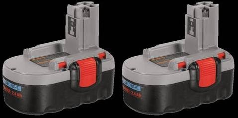 Bosch BAT181-2PK 18-Volt HDOP Battery 2-Pack 2.4-Amp Hour