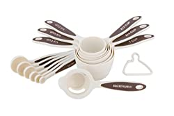 MIU France 13-Piece Plastic Measuring Cup and Spoon Set