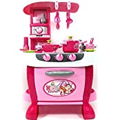 PowerTRC® Deluxe Kitchen Appliance Cooking Play Set With Lights & Sound