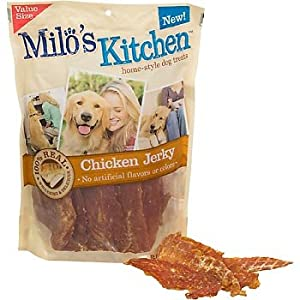 Del Monte Corporation Milo's Kitchen Chicken Jerky Reviews