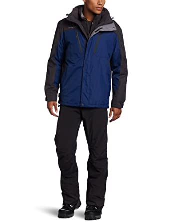 ZeroXposur Men's System Stigma Jacket, Sapphire, Medium
