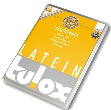 Tulox-Sprachtrainer Latein: Vokabeltrainer, Grammatiktrainer, Konjugationstrainer; Worterbuch.
