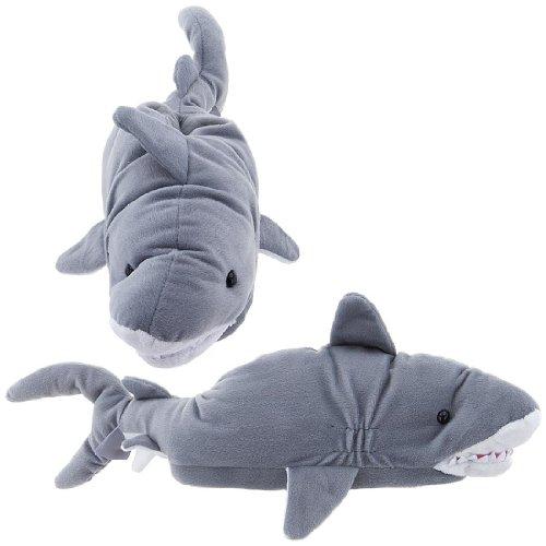 Image of Shark Animal Slippers for Men and Women (B00869DSPQ)
