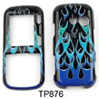 CASE FOR LG Rumor 2, Cosmos, Banter, Script HARD COVER WILD FLAME TP876 Rumor 2, Cosmos, Banter, Script, LX265 Alltel, Sprint, Verizon, U.S Cellular, Virgin Mobile