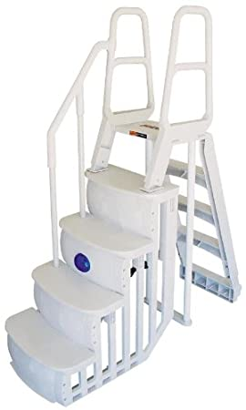 My Top 5 Above Ground Pool Ladders For Heavy People With