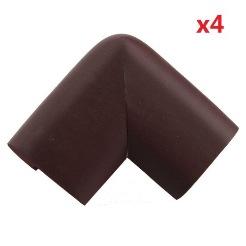 Phaca Safe Table Edge Guard Protector 4Pcs (Coffee) back-350001