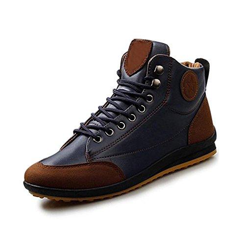 gleader-hombres-ocasional-invierno-del-alto-top-zapatos-de-terciopelo-calidas-botas-impermeables-zap