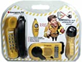 LifeLine Emergency Kit with Hand-Crank Flashlight, Radio, Whistle, and Emergency Non-Power Phone