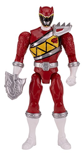 "Power Rangers Dino Charge - 6.5"" Double Strike Red Ranger Action Figure - 1"