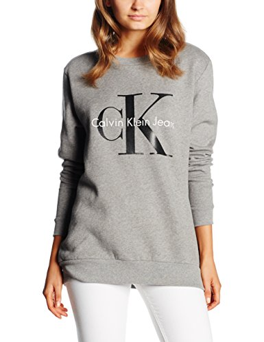 calvin-klein-jeans-damen-sweatshirt-crew-neck-hwk-true-icon-grau-light-grey-heather-038-medium