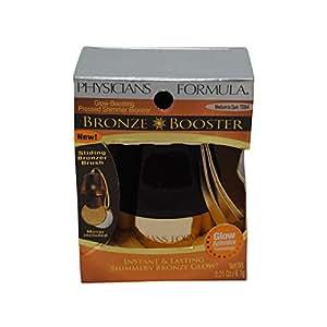 Physicians Formula Physicians Formula Bronze Booster Glow, Boosting Pressed Bronzer Medium to Dark 0.3 oz