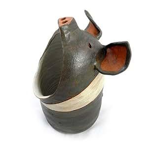 Amazon Com Americana Hampshire Pig Ceramic Spoon Holder
