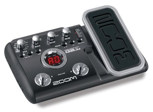 ZOOM G2.1U Guitar Effects Pedal with USB & ESP Pedal & 6 band EQ