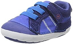 Stride Rite SRT SM Goodwin Sneaker (Infant/Toddler), Cobalt, 3 W US Infant