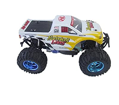LEDVAS Yello/blue 1:10 RC car Land Overlord Nitro Gas Monster 15CC engine Truck RTR fast speed model truck toy