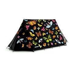 Social Butterfly 2-Person Tent by FieldCandy