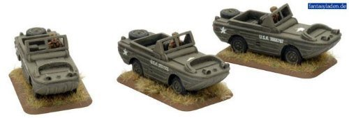 Soviet: Ford GPA (Amphibious) Jeep (x3) by Battlefront Miniatures