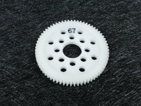 3Racing #3R/3Rac-Sg4867 48 Pitch Spur Gear 67T For Most Rc Cars